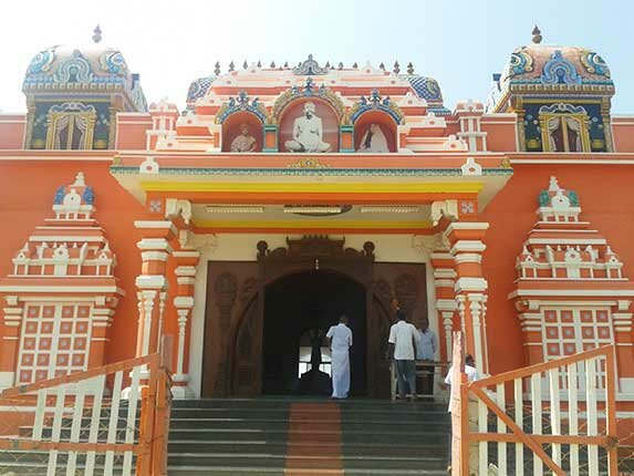 Vivekandar Memorial Hall in Kunthukal